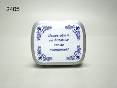 DEMOCRATIE/BLIKJE MET PEPERMUNT/67
