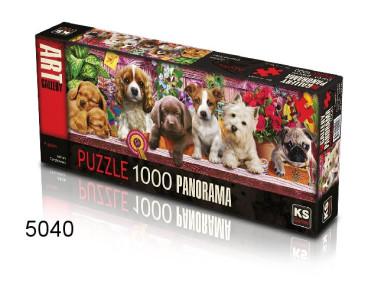 PUZZEL PUPPIES/1000 PAN/135