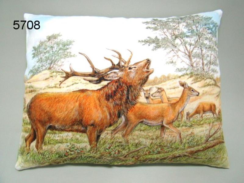 Hert edelhert kussen 35x45cm 111 hert productgroep producten