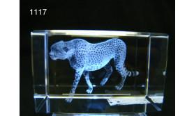 CHEETAH 3D GLASBLOKJE/5X5X8CM/115