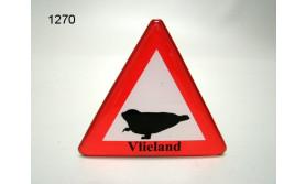 MAGNEET VERKEERSBORD/ZEEHOND VLIELAND/70