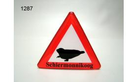 MAGNEET VERKEERSBORD/ZEEHOND SCHIERMONNIKOOG/70