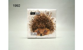 SERVET/CUTE HEDGEHOG/25X25CM/64