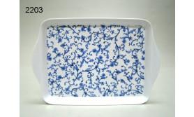 INDIGO BLUE/DIENBLAD SCROLL 21X14,2CM/78