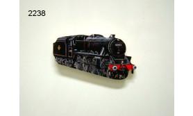 TREIN HOUT MAGNEET/129