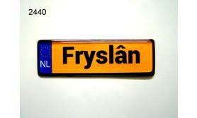 FRYSLAN/MAGNEET NUMMERBORD/70