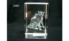 RINGSTAARTMAKI 3D GLASBLOKJE/5X5X8SM/115