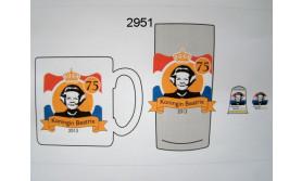 KONINKLIJK HUIS/GLAS BEATRIX/44