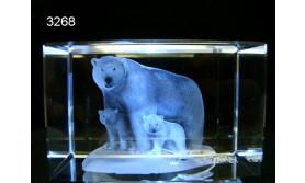 IJSBEER 3D GLASBLOKJE/115