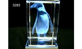 PINGUIN HUMBOLDT 3D GLASBLOKJE/115