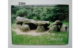 DRENTHE/MAGNEET HUNEBED/8X5,5CM/70