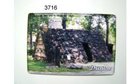 DRENTHE MAGNEET PLAGGENHUT/8X5,5CM/70