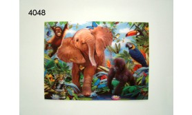 BABYJUNGLE/3D POSTER 39X29CM/91