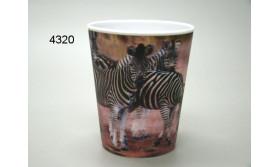ZEBRA 3D BEKER/51