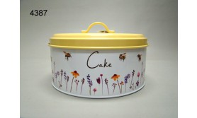 BUSY BEES/BLIK CAKE/22X22X11CM/61