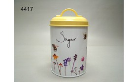 BUSY BEES/BLIK SUGAR/11X11X19CM/61