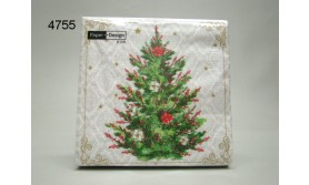 SERVET/CHRISTMAS TREE/33X33CM/64