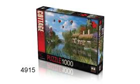 PUZZEL OLD RIVER COTTAGE/1000/135