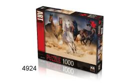 PUZZEL WILD HORSES/1000/135