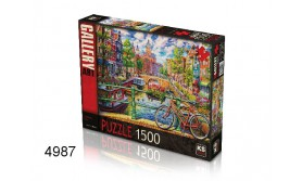 PUZZEL A COLORFUL CITY/1500/135