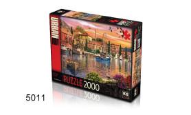 PUZZEL HARBOUR SUNSET/2000/135
