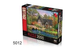PUZZEL THE STONEY BRIDGE COTTAGE/2000/135