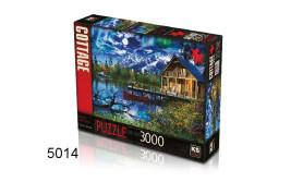 PUZZEL MOONLIT LAKE HOUSE/3000/135