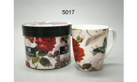 MOK/ANTIQUE ROSE & BUTTERFLY IN DOOS/78