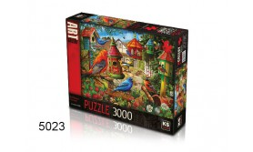 PUZZEL BIRD HOUSE GARDENS/3000/135