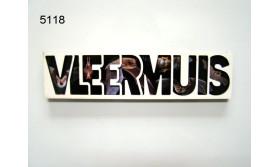 VLEERMUIS LETTERMAGNEET/70