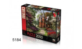 PUZZEL VICTORIAN COTTAGE IN BLOOM/2000/135