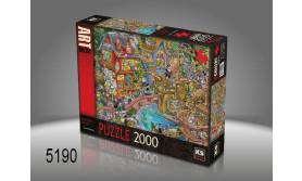 PUZZEL PONTCHEFFS HARBOUR/2000/135