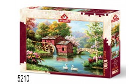 PUZZEL THE OLD RED MILL/1000/109