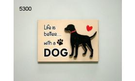HOND DOG/MAGNEET/8X5,5CM/70