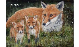 FOX AND CUBS/BTC101E/200X140MM/110