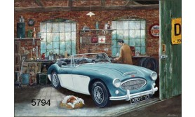 AUSTIN HEALEY 3000/BTC137E/200X144MM/110