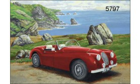 JAGUAR XK 120/BTC146E/200X140MM/110