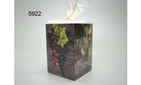 KAARS/GRAPE HARVEST/8X8X12CM/64
