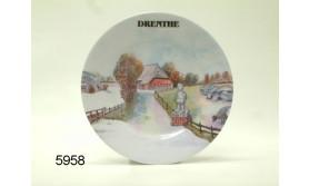 DRENTHE MELAMINE PLAT BORD/34