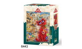 PUZZEL THE RED CAT/260/109