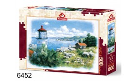 PUZZEL SEAFRONT LIGHTHOUSE/500/109