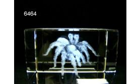 SPIN 3D GLASBLOKJE/5X5X8CM/115