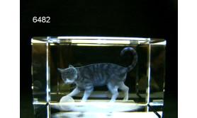 POES 3D GLASBLOKJE/5X5X8CM/115