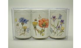 FLOWERS BLIKJE KLEIN 3 ASST/67