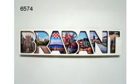 BRABANT LETTERMAGNEET HOUT/14,5X3,5CM/70
