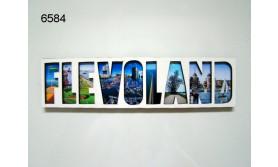 FLEVOLAND LETTERMAGNEET HOUT/70