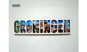 GRONINGEN LETTERMAGNEET HOUT/70
