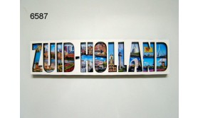 ZUID-HOLLAND LETTERMAGNEET HOUT/70