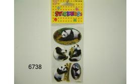 PANDA STICKER/3/22