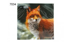 SERVET/FOREST FOX/33X33CM/64
